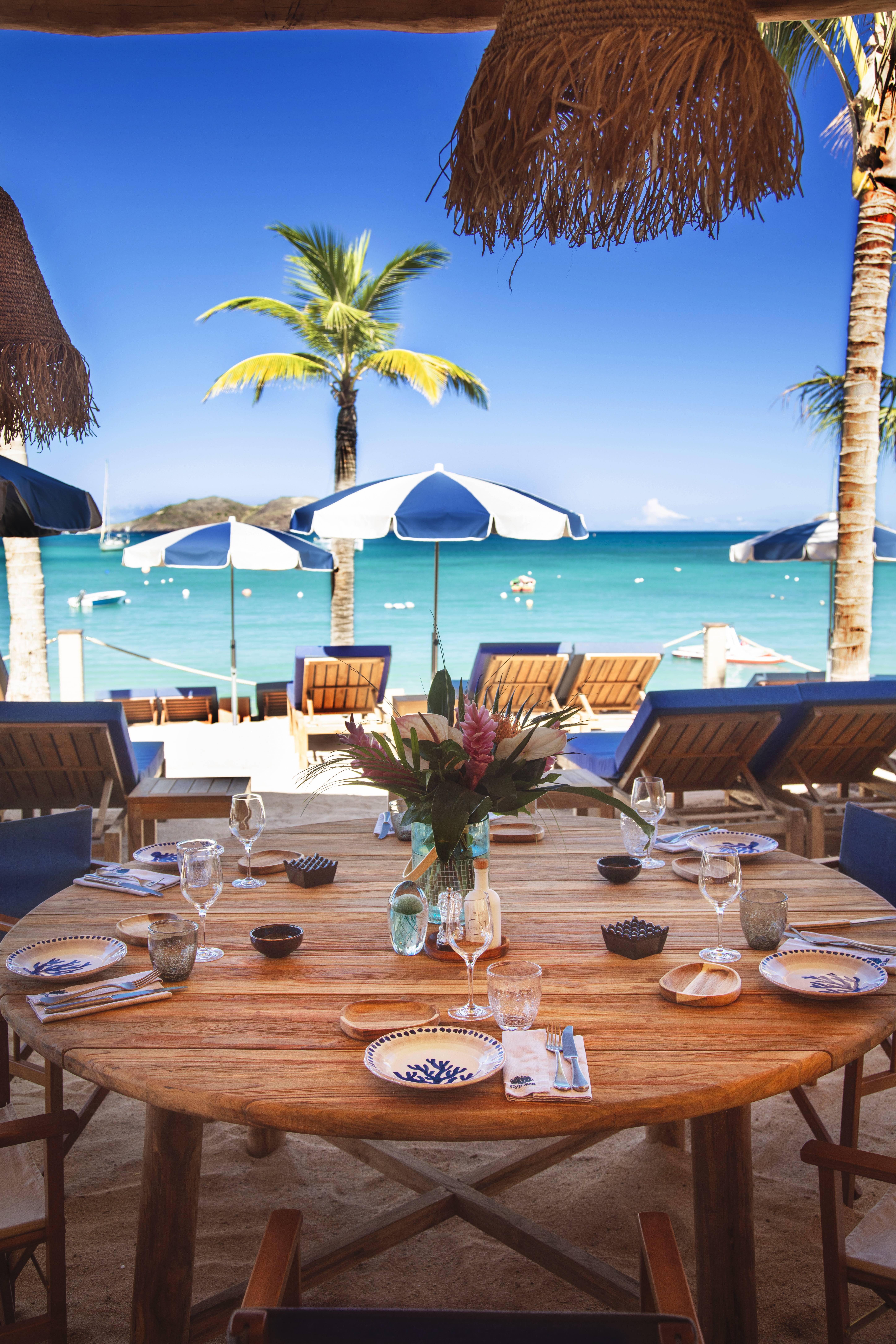 best beach restaurant saint barth