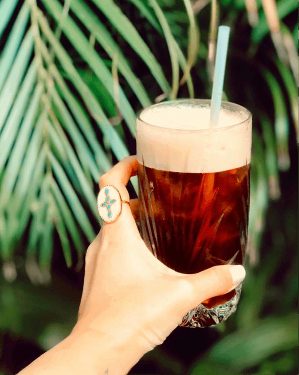 fresh beach drink