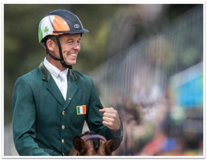 Jonty Evans at the Olympics