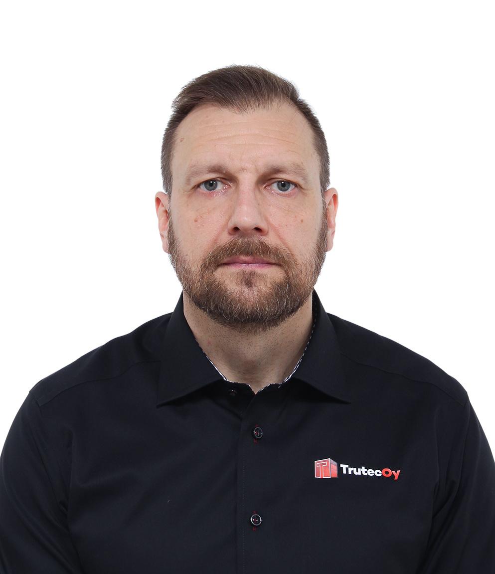 Trutec Oy Nikolai Makarov  Myynti, projektinjohto, Etelä-Suomi 040 054 3060 nikolai.makarov@trutecoy.fi