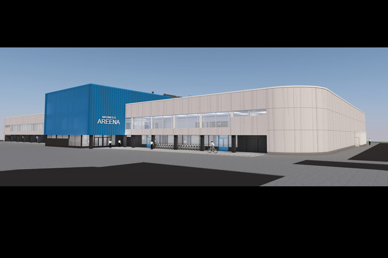 Espoon Jääurheilun Tuki ry ja Trutec Oy ovat allekirjoittaneet sopimuksen Espoon Matinkylän jääurheilukeskuksen teräsrakenneurakasta.