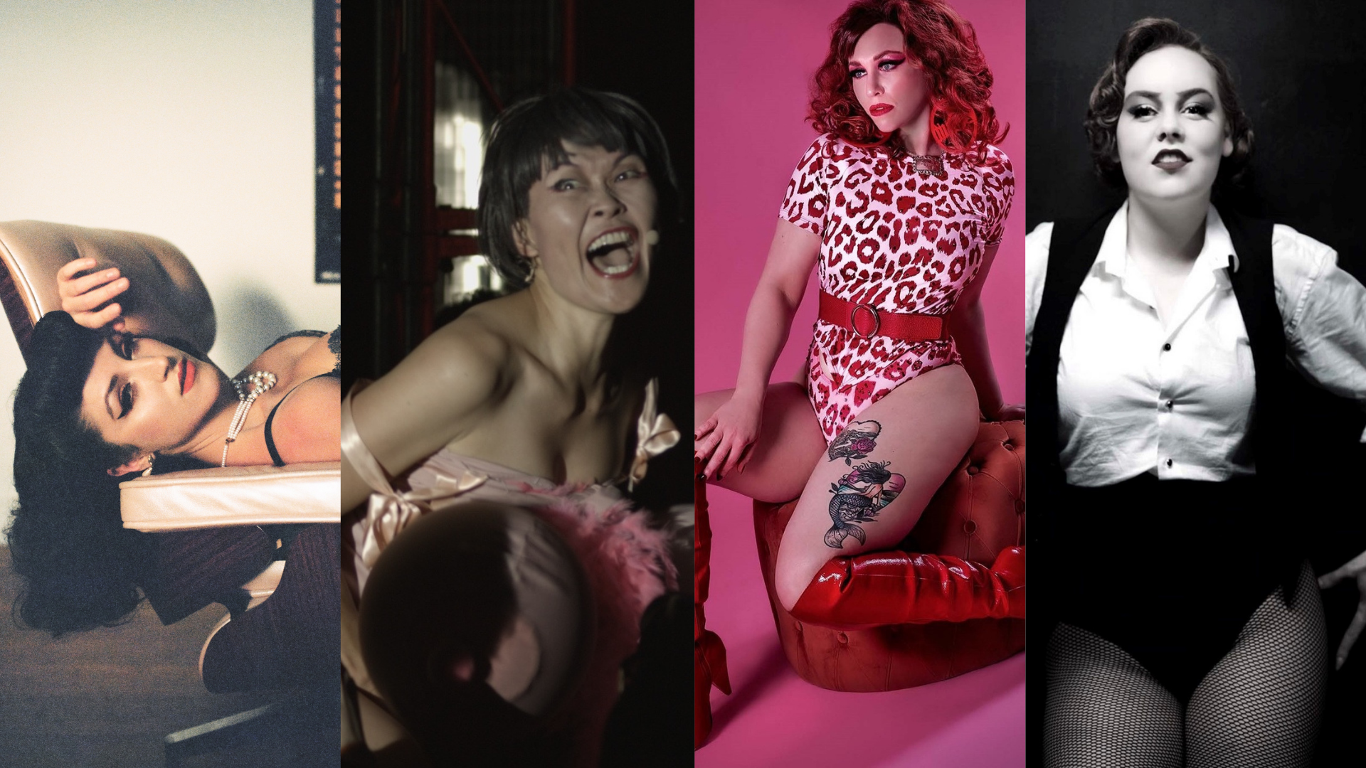 Gina Stirling, Yumi Umiumare, Whisky Falls + Miss Zaphyer
