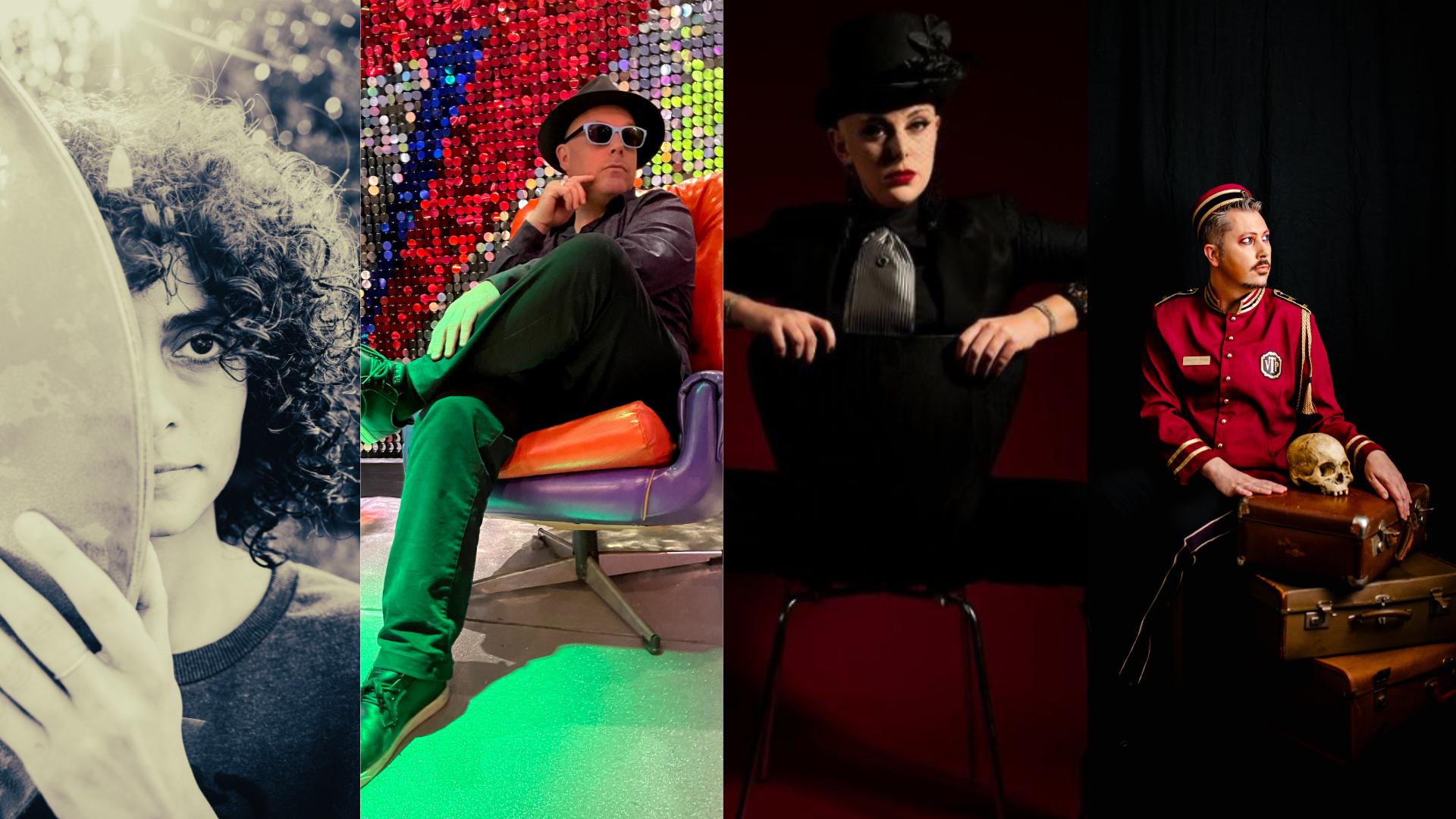 Adam Rudegeair & The Magnificence Trio, Jaleh, Alikeen Killer + Vincent Prize
