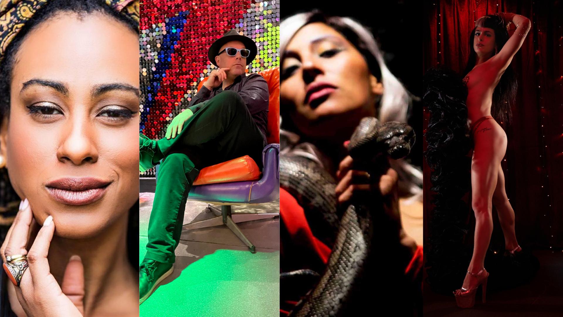 Adam Rudegeair & The Magnificence Trio, Dany Maia, Mama Boho + Ferri Maya