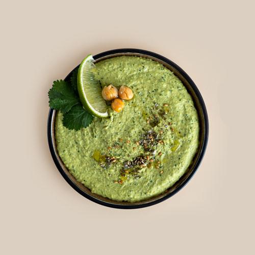 Hummus mit Zatar