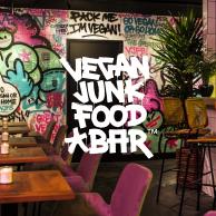 Music in Vegan Junkfood Bar, curated by kollekt.fm
