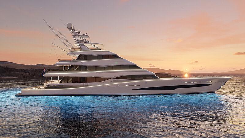 Royal Huisman unveils Project 406 | SuperYacht Times
