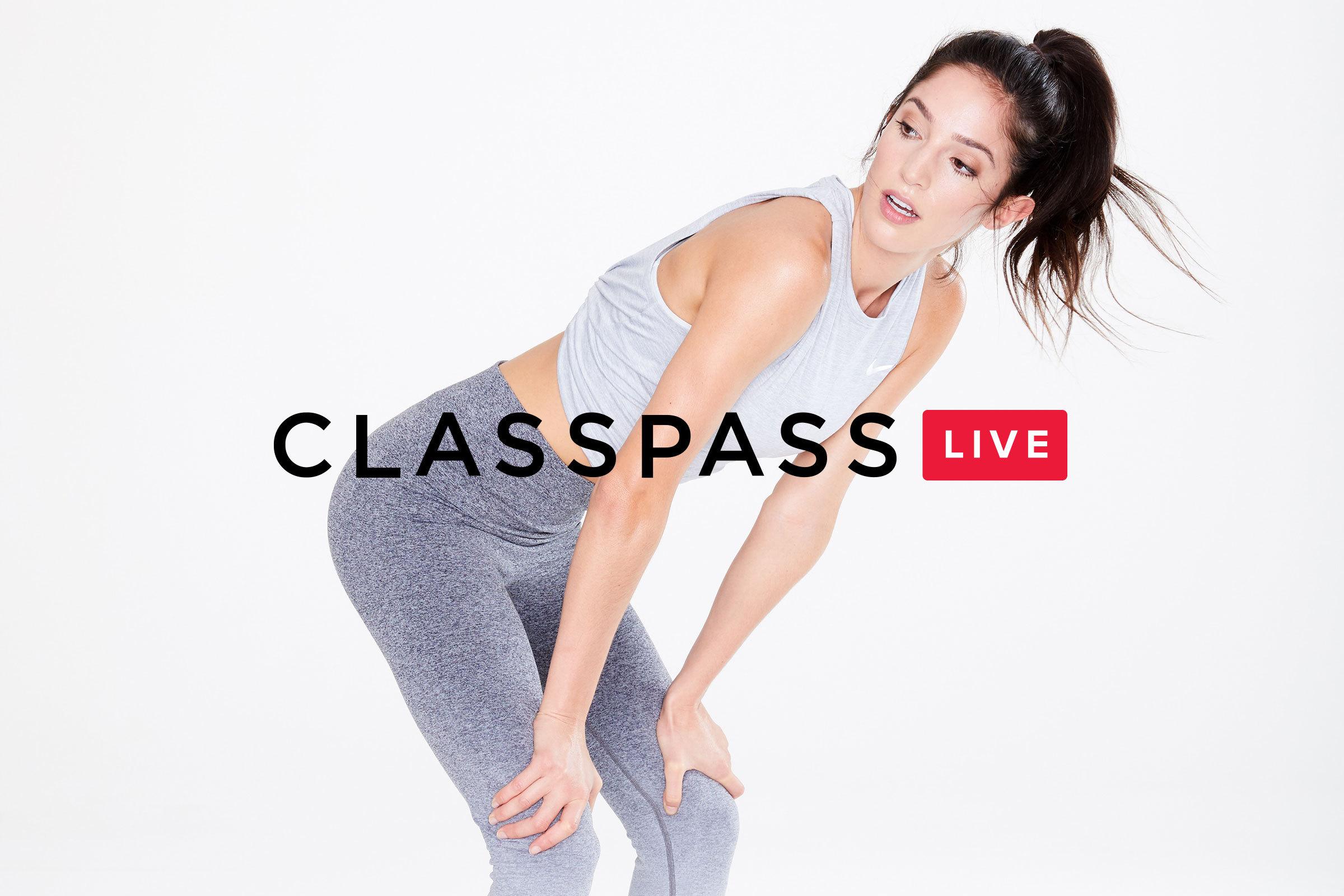 Classpass live advert