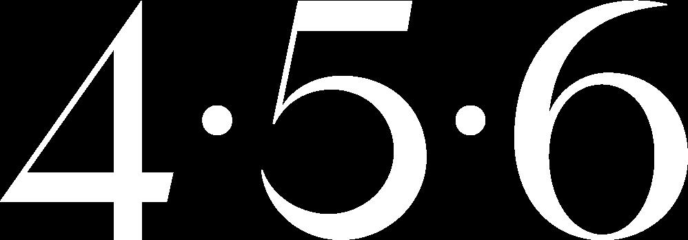 456 Skincare Logo