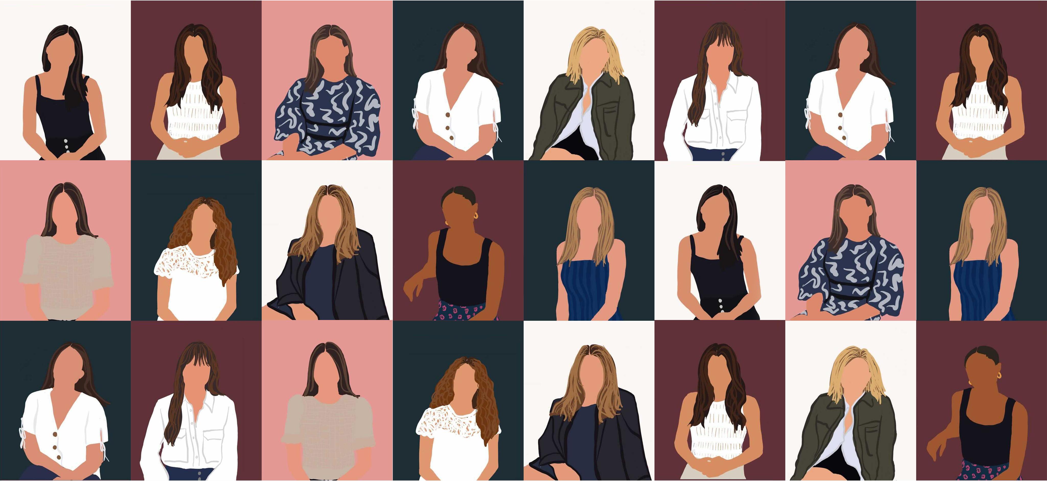 Rebecca Abigail team illustration