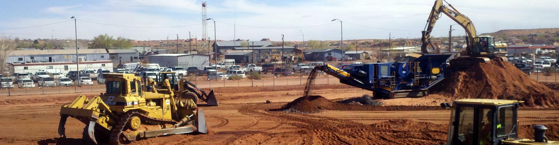 EMC: Site Development with Heavy Equipment