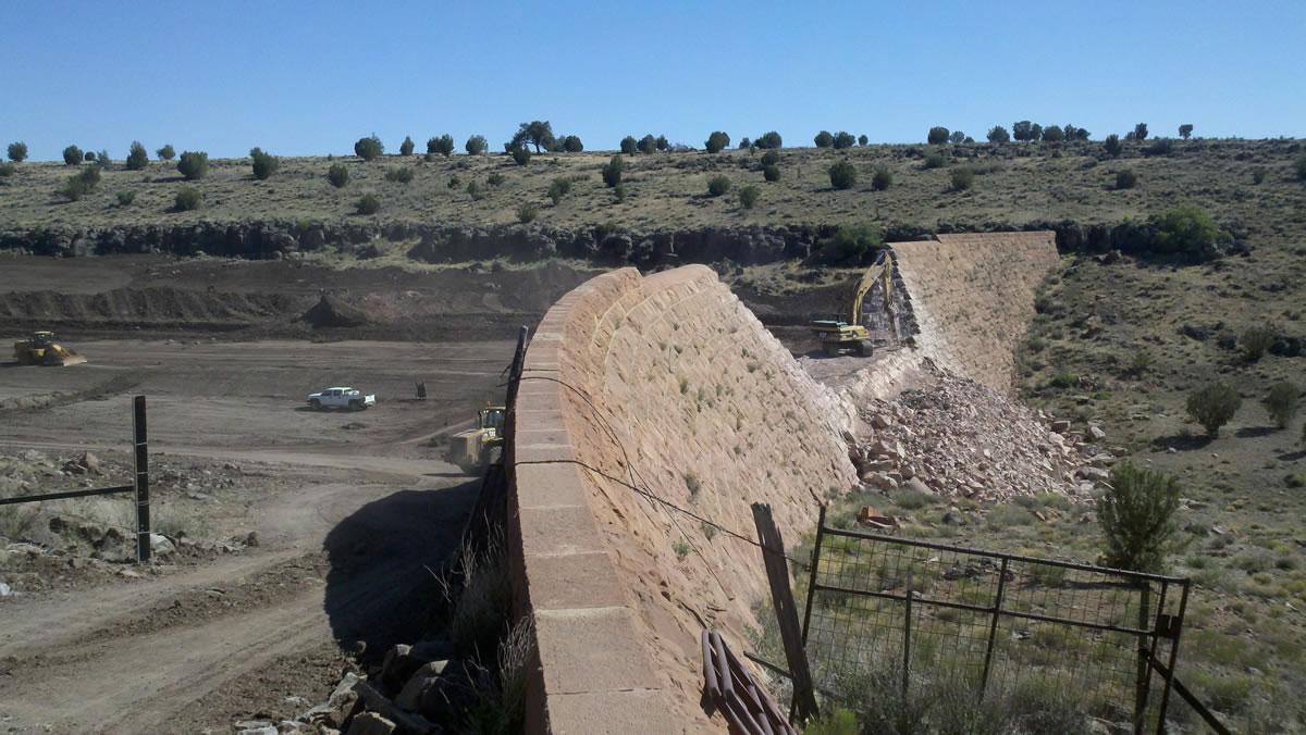 Pan Dam Decommissioning