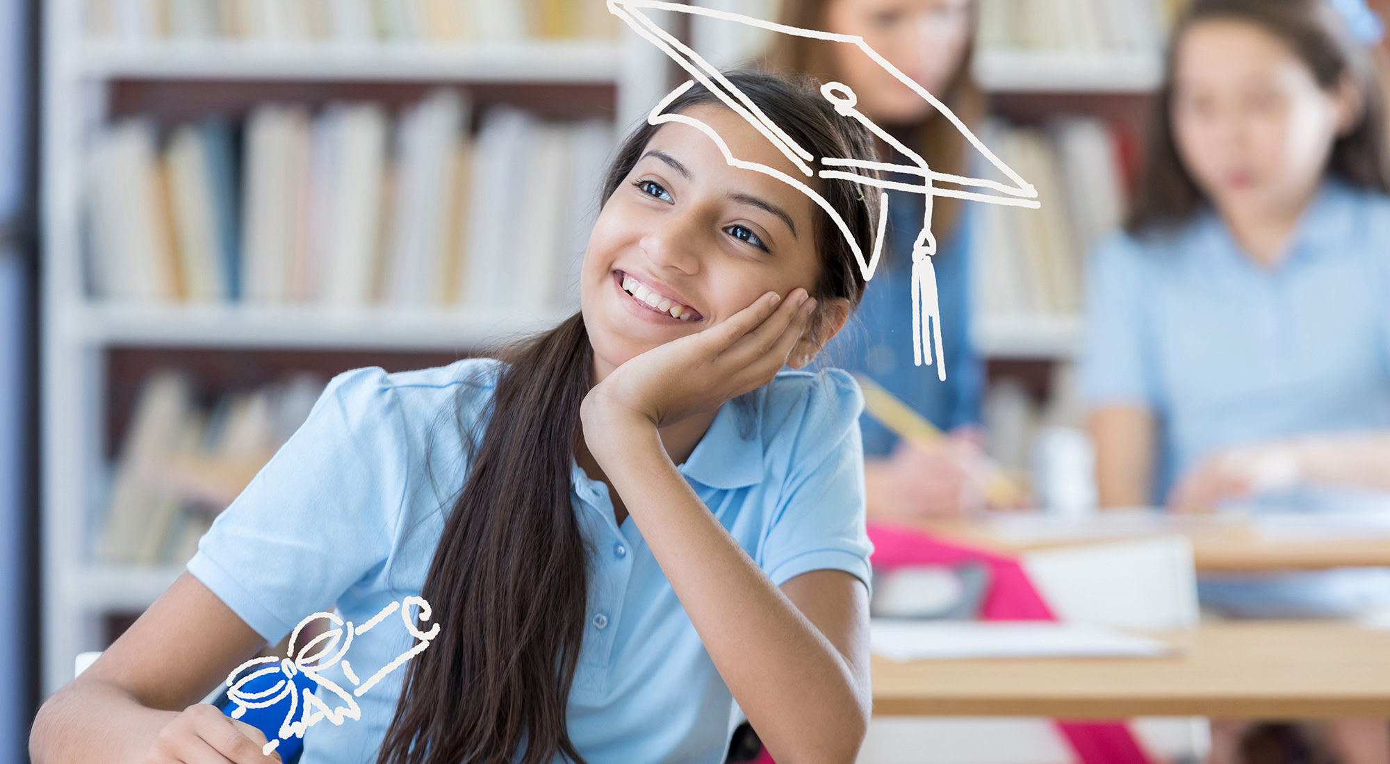 Young Student in College Savings Bank Digital Advertising by 3rd Edge