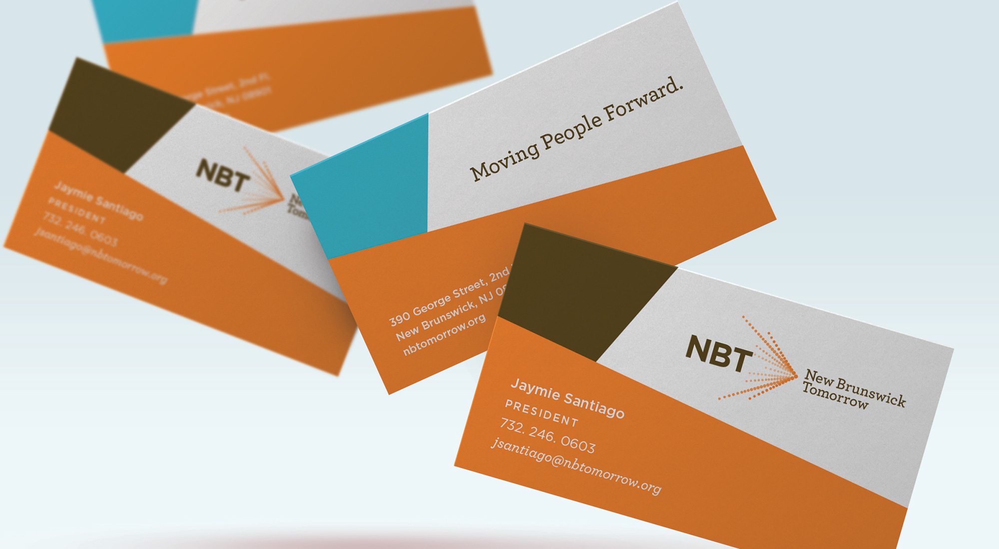 New Brunswick Tomorrow Business Cards by 3rd Edge