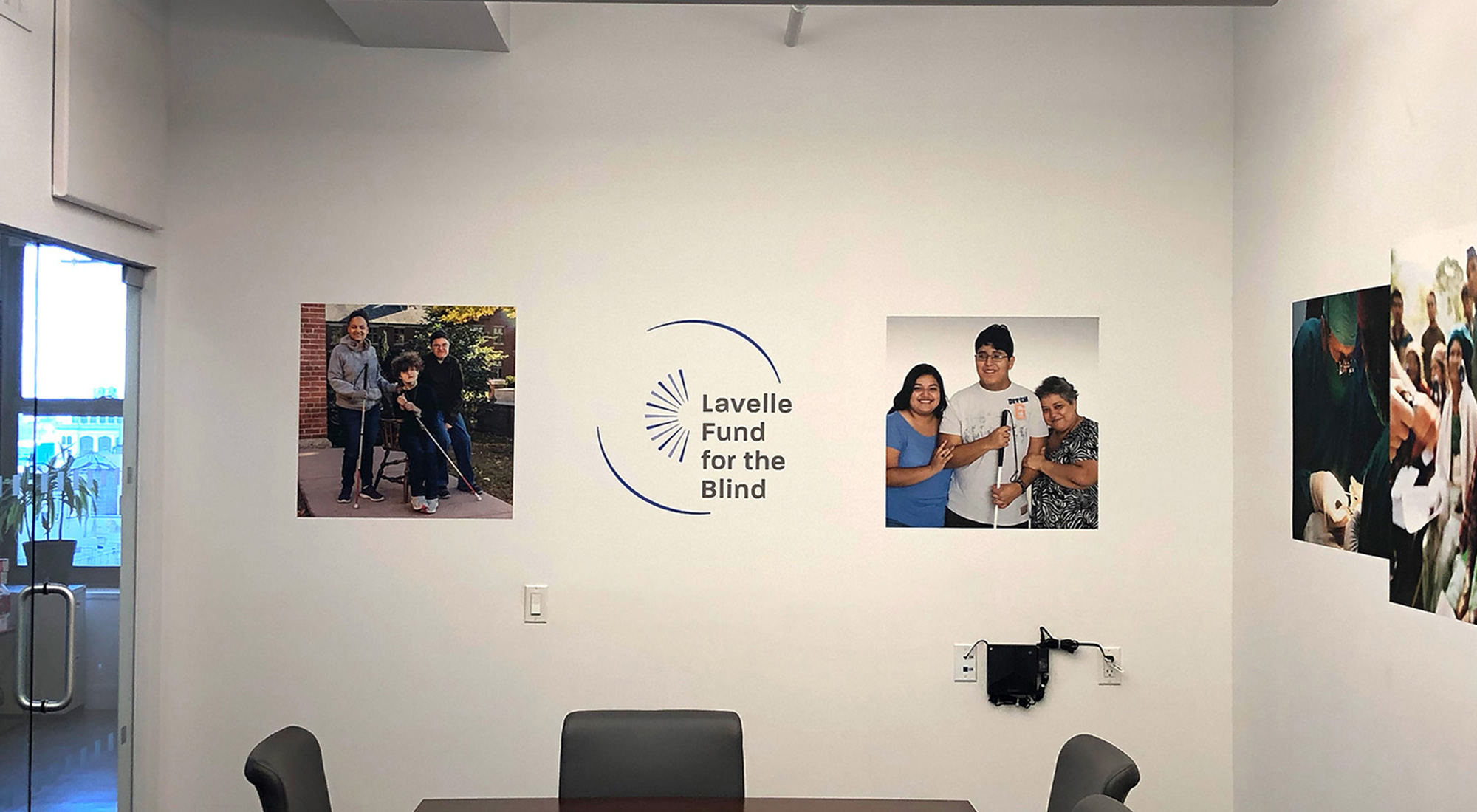 Lavelle Fund for the Blind Office Design by 3rd Edge