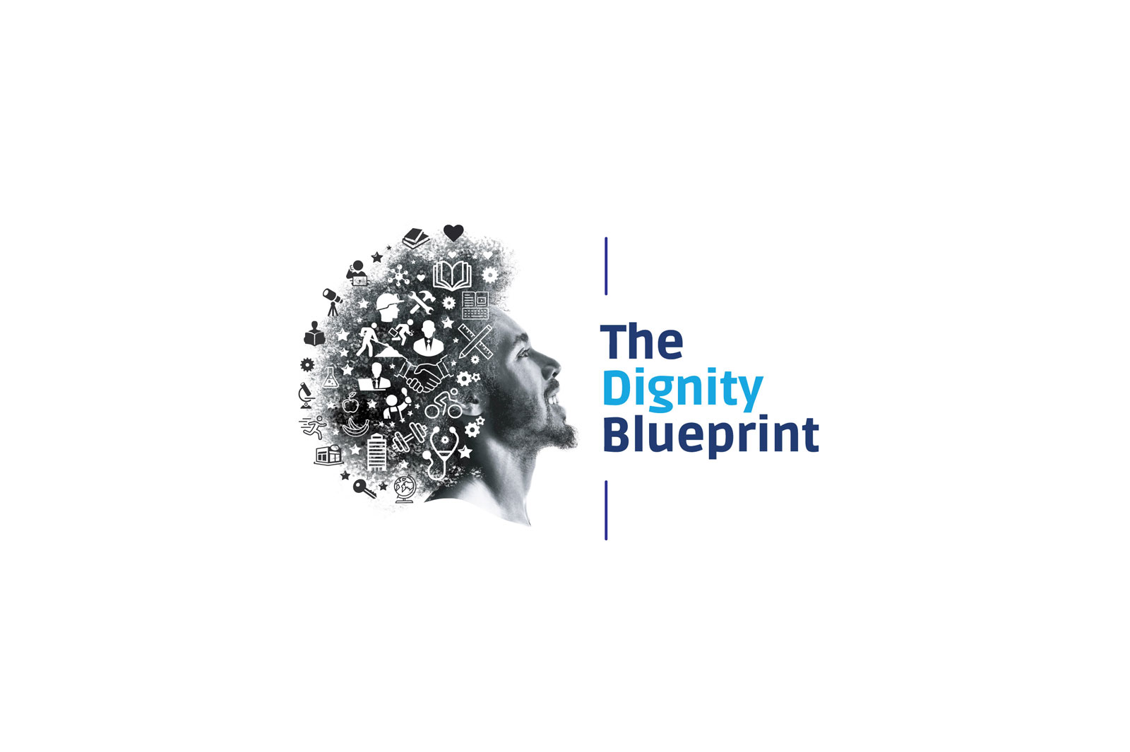 Dignity Blueprint Campaign Logo by 3rd Edge