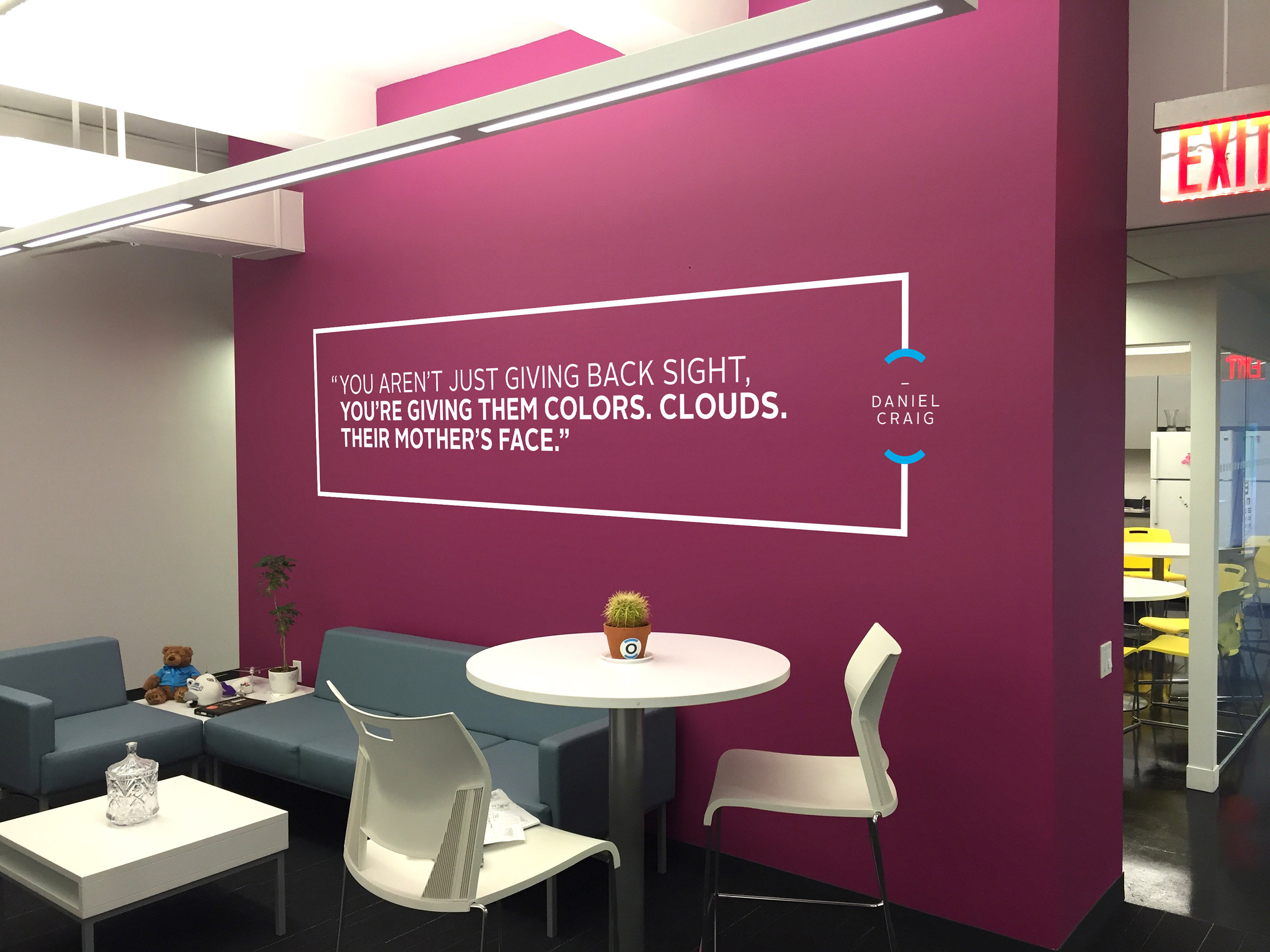 Orbis Office Environmental graphics on wall