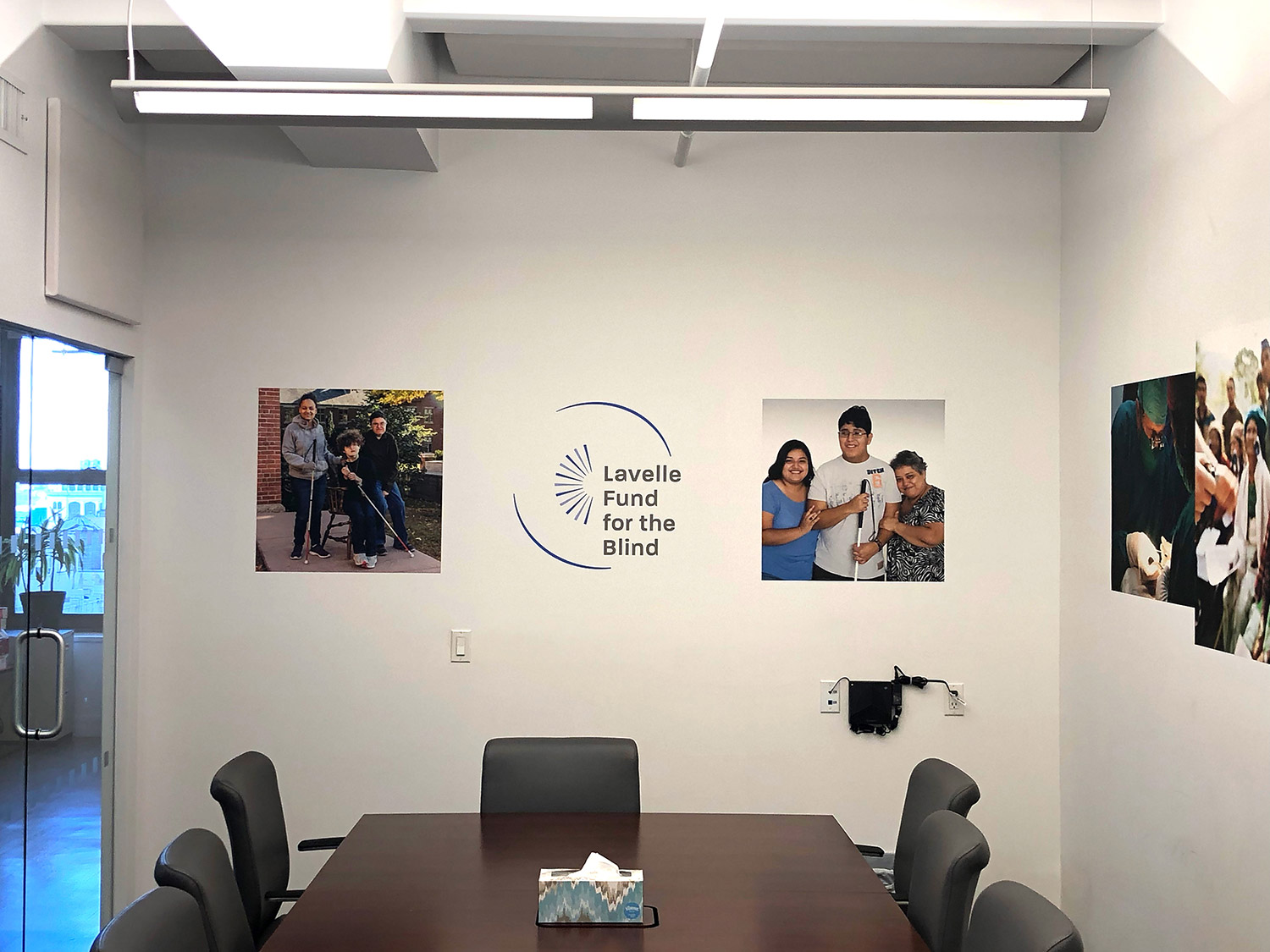 Lavelle office environment wall graphics