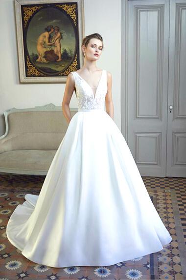 boutique de robe de mariée à strasbourg - épurée