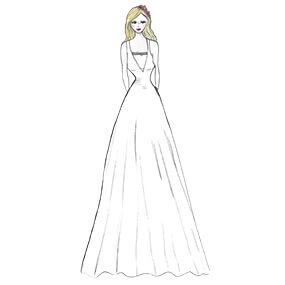 boutique de robe de mariée à strasbourg - évasée