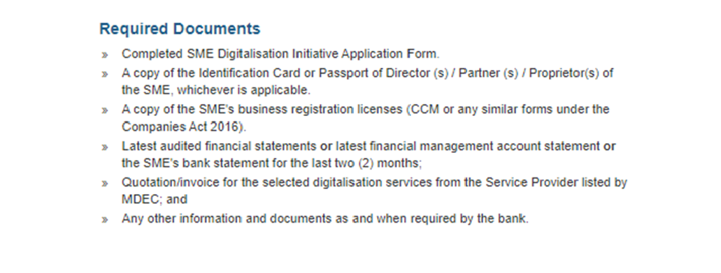 SME Digital Grant Requirements 02