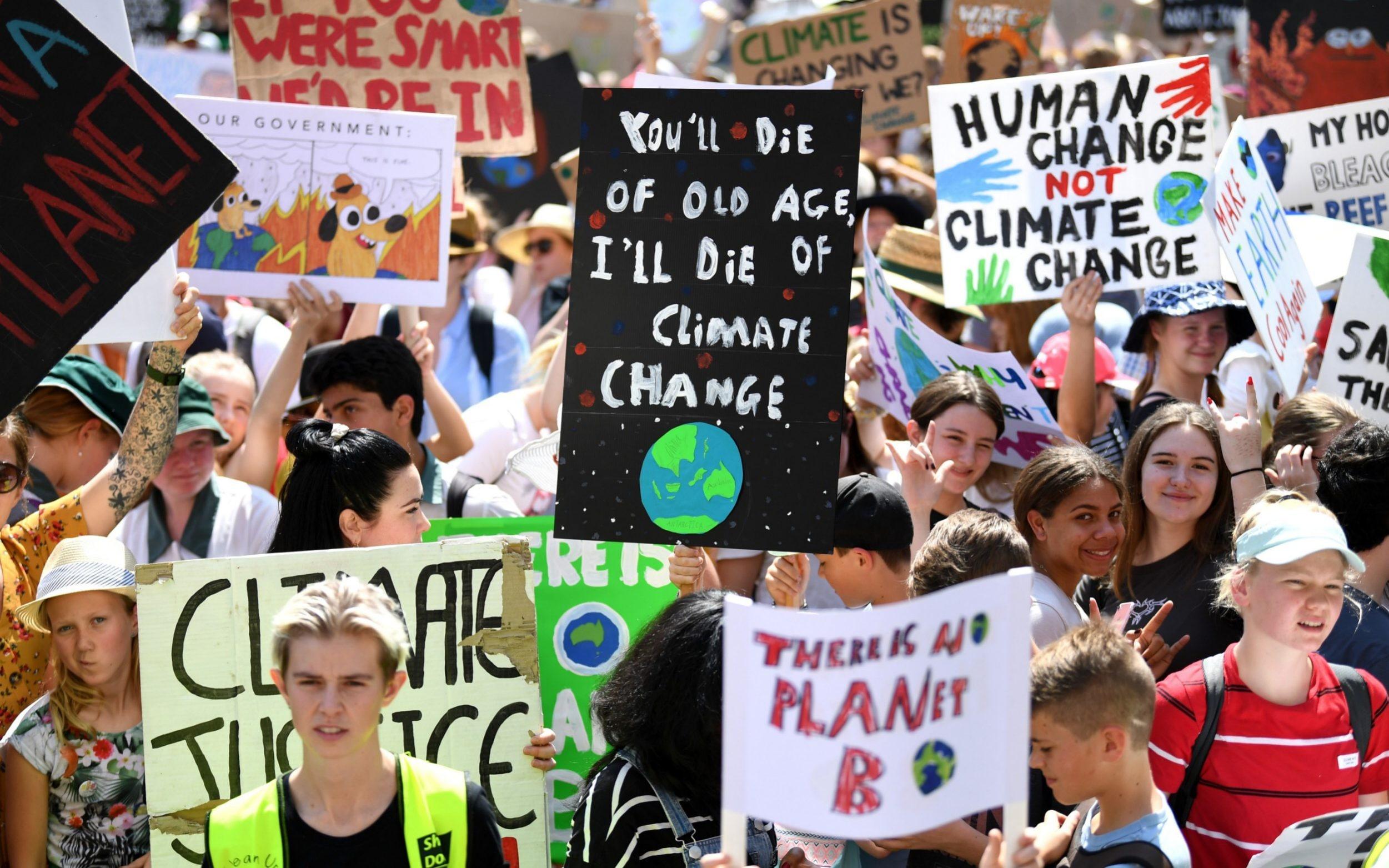 Gen Z Protest Climate Change