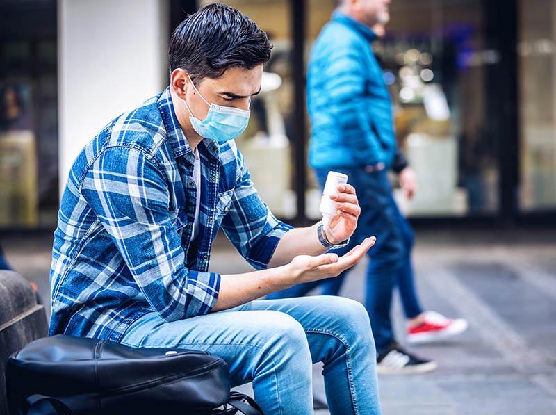 Sanitizing as new consumer behavior