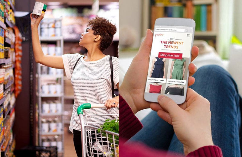 Consumers Interacting from multiple touchpoints
