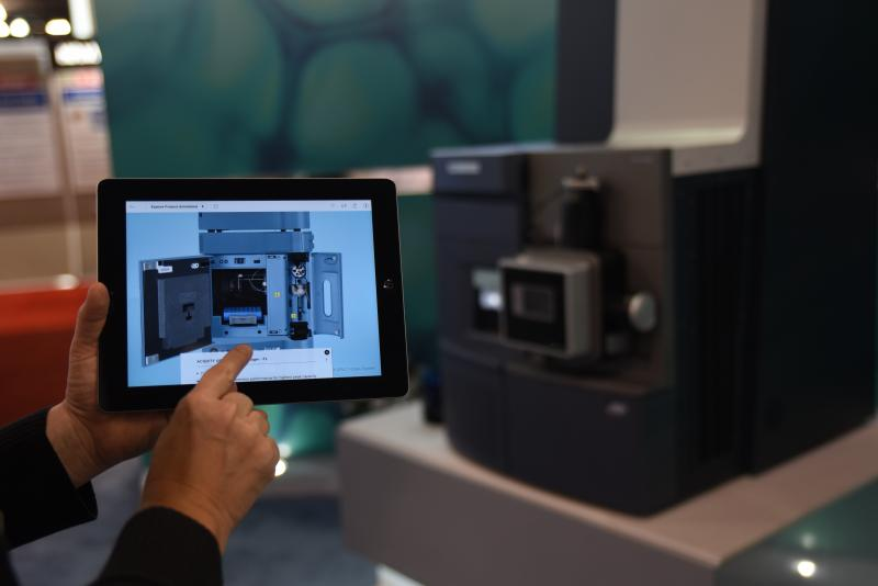 AR being used part of marketing technology for B2B business