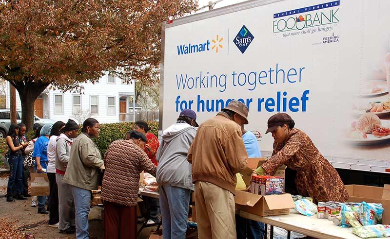 Walmart's brand activism activities