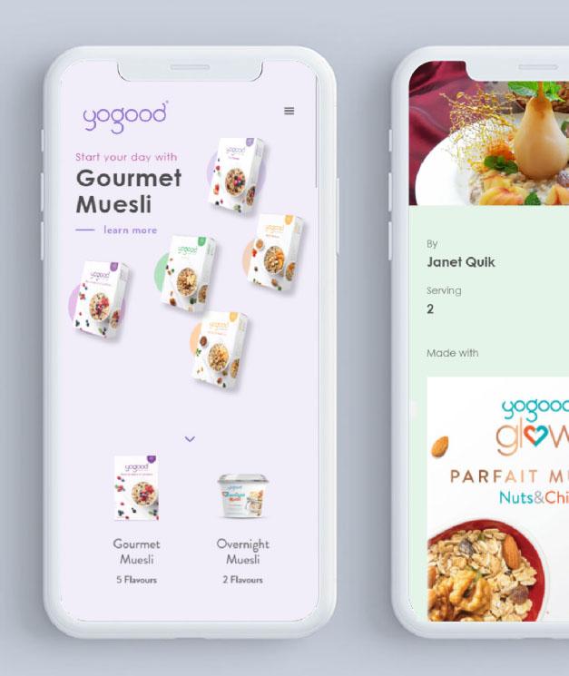 yogood web design