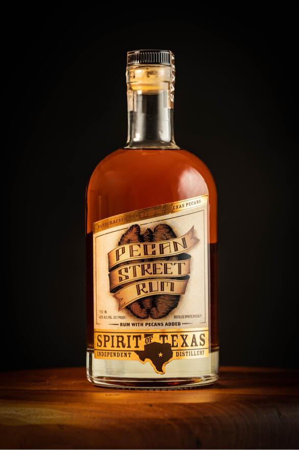 Spirit of texas drink bottle photography