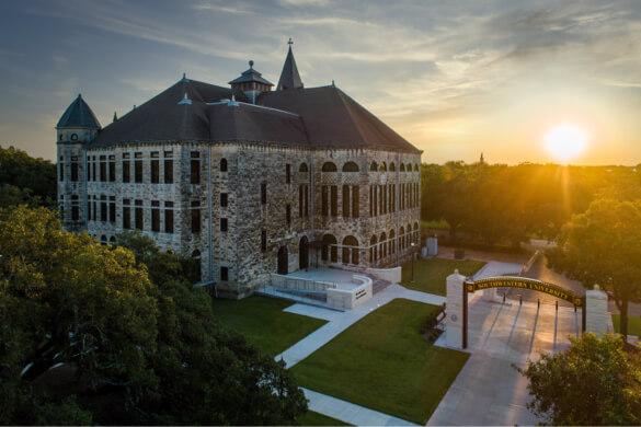 Southwestern University photography campus