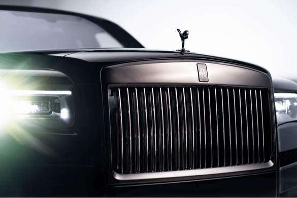 video production rolls royce motion