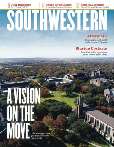 Cover magazine drone video aerial