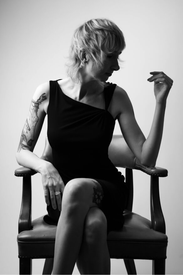 Lifestyle portrait studio photography woman