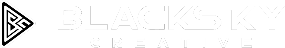 Black sky creative photography video production logo