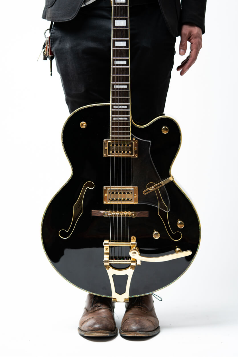 Musical guitare photograph professional