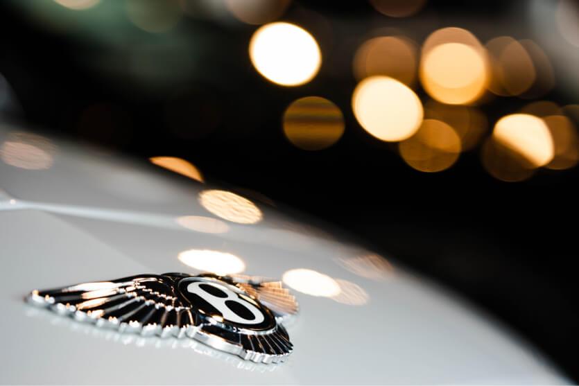Bentley luxury car logo
