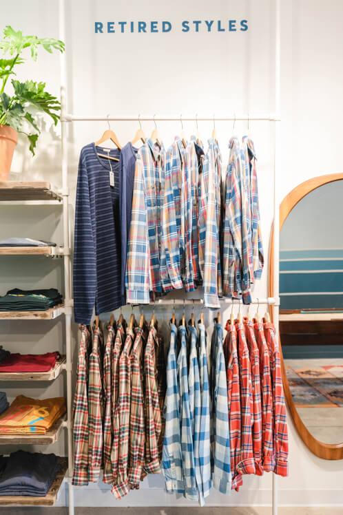 Marine Layer store clothing photography media