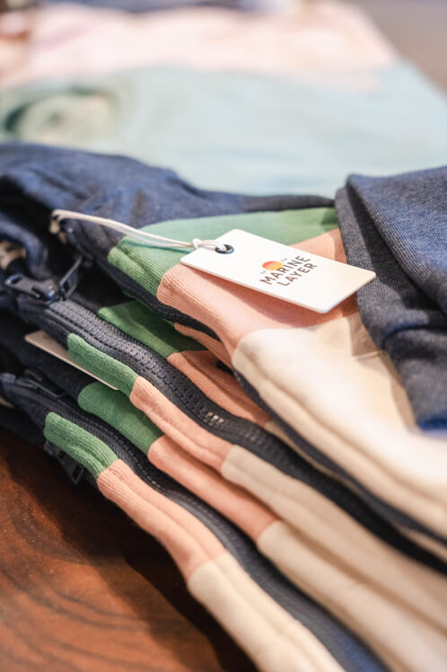 clothing store photography