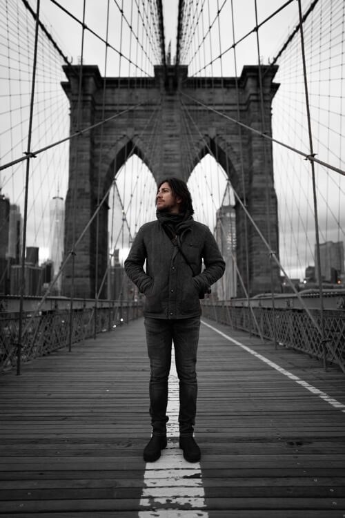 Street photography bridge