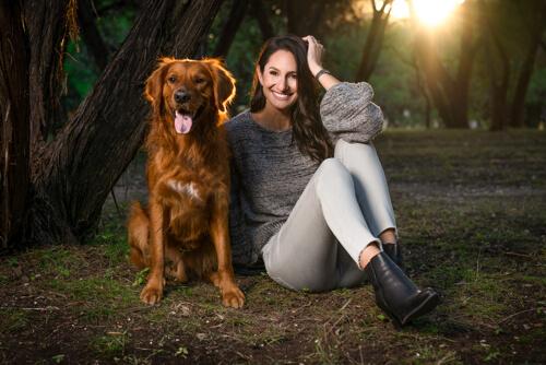 Animal photograph outdoor dog