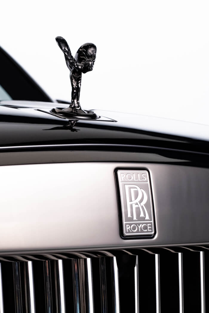 Rolls Royce Luxury car commercial production logo