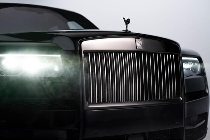 exterior Rolls Royce Luxury Car Video production