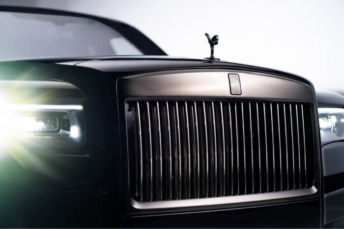 Luxury production Rolls Royce commercial
