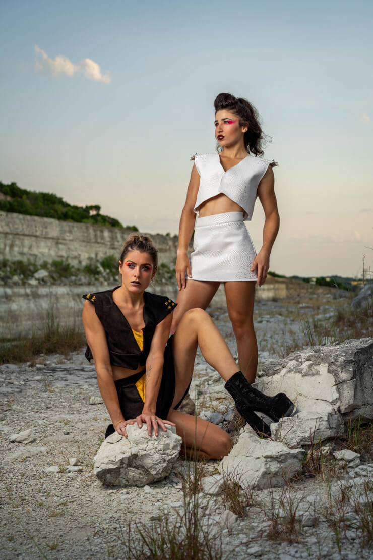 Outdoor photography fashion
