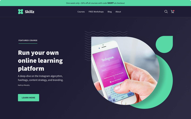 Skillz eLearning Platform