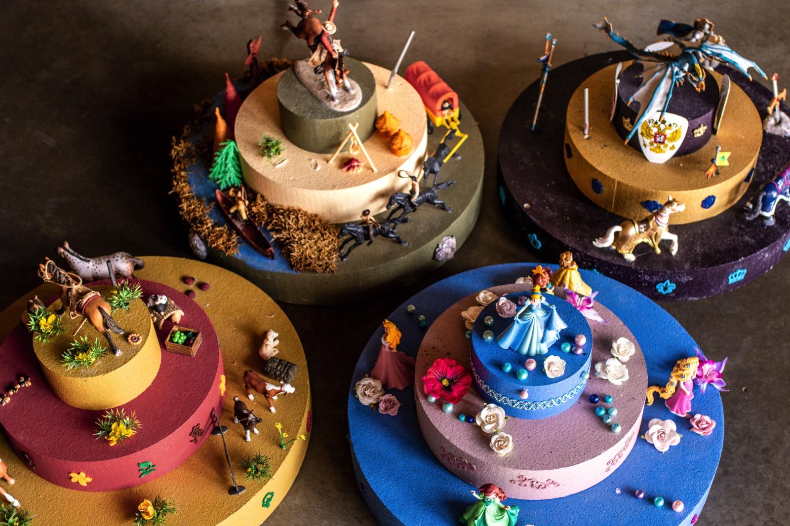 Kinderfeestje verjaardagstaart Speelboerderij de Hooiberg