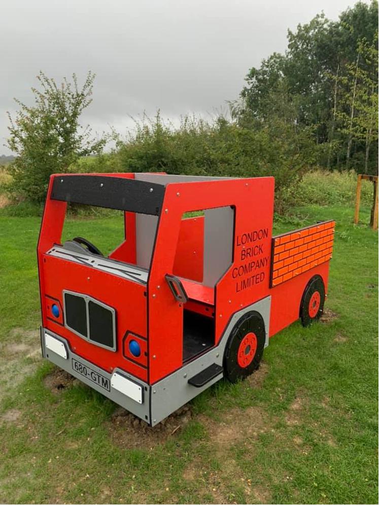 London Brick Company Play Truck